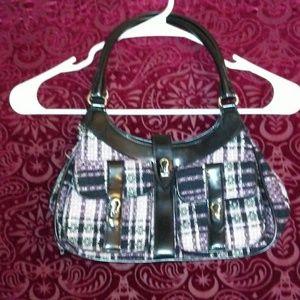 BCBGirls Plaid Handbag